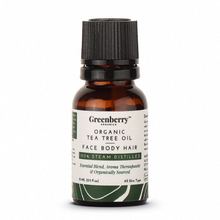 Greenberry Organics Organic Tea Tree Oil - 15 ML