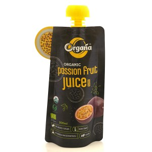 Organa Organic Passion Fruit Juice 200 ml (Pack Of 8)