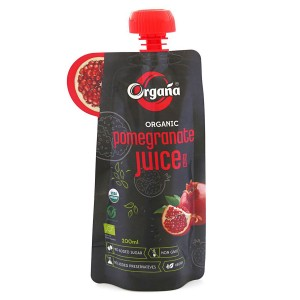 Organa Organic Pomegranate Juice 200 ml (Pack Of 8)