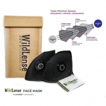 WildLense Face Mask - Pack of 2