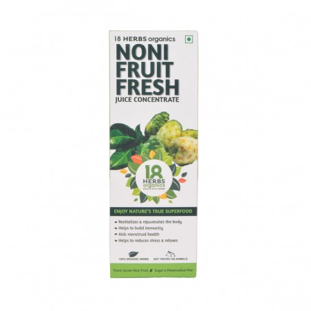 18 Herbs Organics Noni Fruit Fresh Juice 500ml