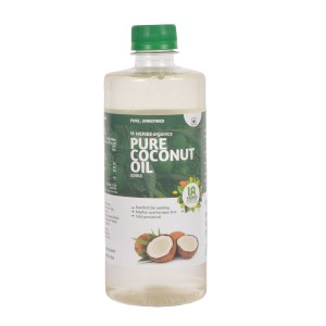 18 Herbs Organics Pure Coconut Oil 500ml