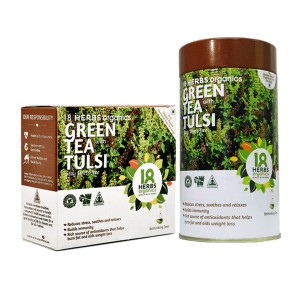 18 Herbs Premium Green Tea With Tulsi