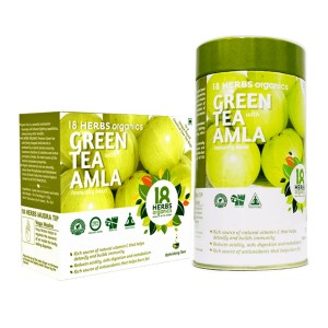18 Herbs Organics Green Tea With Amla