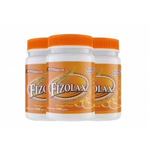 SUPERMUCIL FIZOLAX Orange Flavor (100gmX 3)