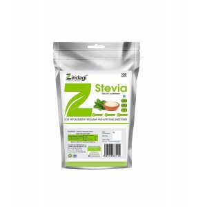 Zindagi Stevia Sachets - Sugarfree Stevia Leaves Powder - Natural Stevia Extract 100gm