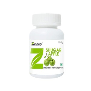 Zindagi -Shugar Apple- 100% Natural & Herbal Anti Diabetic Food Supplement