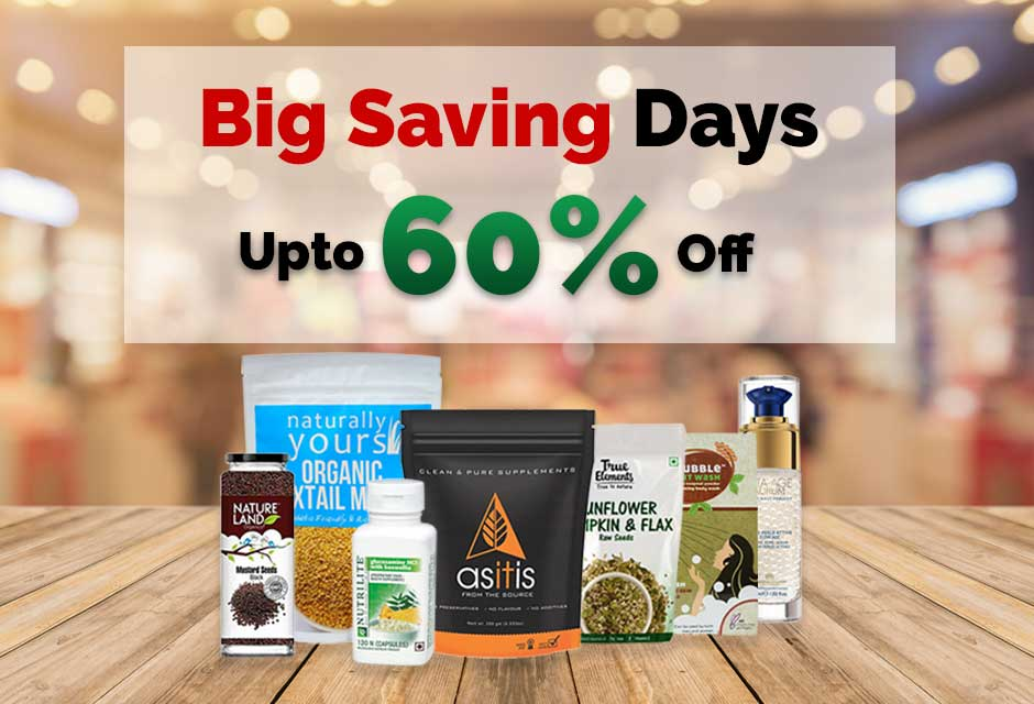 Big Saving Days at Wellnessmonk